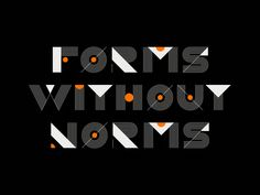 Forms without norms moshun gif animation motion loop type font animated animography after effects typeface typography Line Animation, Animation Types, First Animation, Type Design, Graphic Design, Font Software, Typography Design, Lettering, Beer Label Design