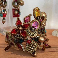 Baroque Bracelet by Dori Csengeri. #doricsengeri #baroque #bracelet #colors…