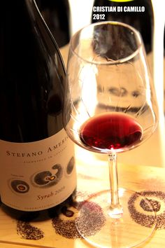 don't miss to taste this wonderful #tuscan #sirah made by the winegrower Stefano Amerighi