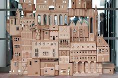 cardboard castle..