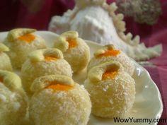 Coconut Malai Ladoo – Diwali Sweets