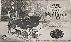 Vintage Pram, Prams And Pushchairs, Beautiful Babies, Baby Strollers, Advertising, Ads, Retro, Twilight, Prams