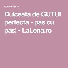 Dulceata de GUTUI perfecta - pas cu pas! - LaLena.ro Gem, Waffles, Gemstones, Gems, Gemstone