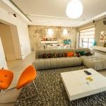 Colorful Romanian Apartment. The Emerald Residence Complex