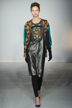 Clements Ribeiro   Fall 2012 Ready-to-Wear Collection   Vogue Runway