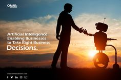 Omnie Solutions aims to help businesses connect their business goals with AI-powered technologies in order to drive performance and transform their growth. #ArtificialIntelligence