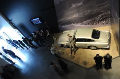 Exhibition on 007 in Shanghai