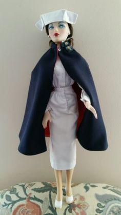 Gene Marshall Doll Designed By Mel Odom ~ U.s. Army Nurse Based On 1943 Calendar