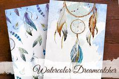 Dreamcatcher. Boho collection by Lembrik's Artworks on @creativemarket