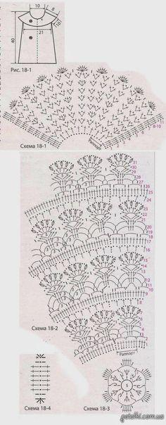 Patrones Crochet, Manualidades y Reciclado: VESTIDOS DE NIÑA A CROCHET