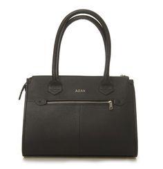 4 zippers. 2 handles, 1 dream. Beautiful Comorano handbag from Adax