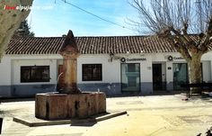 Fuente Plaza Iglesia. Yegen. La Alpujarra