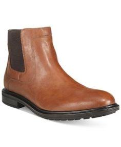 Alfani Men's Hugh Chelsea Boots, Only at Macy's - Tan/Beige 12
