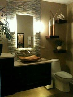 The tile and shelves are arright