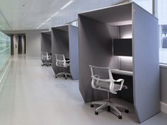 Workstation furniture / Office partition BUZZI BOOTH - Buzzispace.