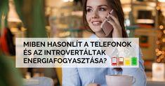 Képzeld el, hogy az introvertáltak energia-utánpótlása úgy működik, mint egy mobil akkumulátora. A különböző szociális (társas) interakciók (3-4G, Repülő üzemmód, Általános használat) eltérő mértékben merítik le. Ismerd meg az 5 kategóriát!