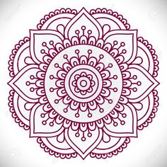 (56) Одноклассники Mandala Design, Mandala Pattern, Zentangle Patterns, Embroidery Patterns, Hand Embroidery, Mandalas Painting, Mandala Artwork, Mandalas Drawing, Dot Painting