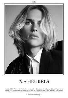 Ton Heukels | Elite Paris F/W 2015 Show Package + Male, Model, Fashion Week, Runway, Photography, Fashion