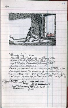 Edward Hopper: Artist's ledger—Book III