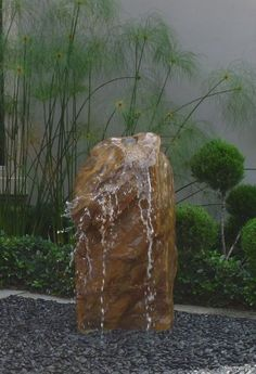Pin By Susan Hill On Garden Ideas Rock Fountain Water