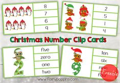 Free ChristmasNumberClipCards-FairyPoppins