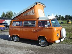 Volkswagen Bus Camper by nakhon100, via Flickr