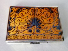 Cigarette Case, Gramercy Gate Cigarette Case, Wallet, NYC Cigarette Case