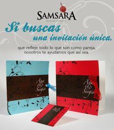 Samsara invitaciones