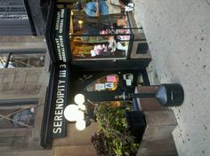 TO DO- Next NYC trip for sure  The serendipity 3 in NYC. yummy!