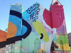 HUUUUUUUGE murals by HENSE.