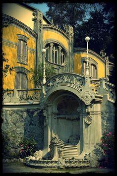 new ideas for art nouveau architecture villas Residence Architecture, Architecture Art Nouveau, Art Et Architecture, Vintage Architecture, Beautiful Architecture, Architecture Details, University Architecture, Creative Architecture, Art Deco