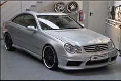 I Need this  Prior Design Mercedes-Benz W209 CLK 430 55 AMG aerodynamic kit front rear sides /