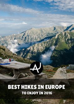 The Top 15 Best Hikes in Europe – Best Hiking Destinations – Hiking Bucket List – Beautiful Backpacking Places To Go On Vacation Camping Europe, Backpacking Europe, Hiking Routes, Hiking Tips, Trekking, Road Trip, All Nature, Best Hikes, To Infinity And Beyond