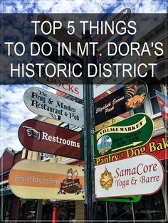 travel florida - Top 5 Things to do in Charming Mt Dora's Historic District Old Florida, Florida Vacation, Florida Travel, Central Florida, Orlando Florida, Florida Beaches, Travel Usa, Florida Trips, Jacksonville Fl