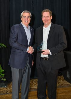 Todd Jones and Dave North, President & CEO of Sedgwick