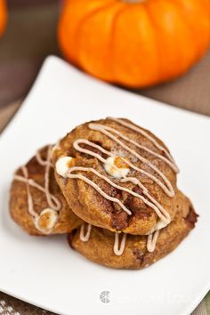 Chewy Soft Pumpkin Spice Cookies