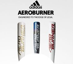 Adidas baseball bats are engineered to the edge of legal. Shop the Aero Burner series today with free shipping exclusively at JustBats.com! Adidas Baseball, Baseball Bats, Volleyball, Football, Free Shipping, Shop, Soccer, Futbol, Baseball Batter