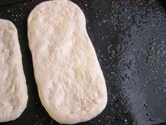 Focaccia - talianska chlebová placka (fotopostup) - recept | Varecha.sk Ciabatta, Bread, Menu, Food, Menu Board Design, Brot, Essen, Baking, Meals