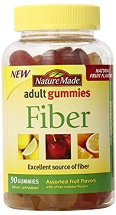Nm Fiber Adult Gummies Size 90ct Nm Fiber Adult Gummies 90ct ** Click affiliate link Amazon.com on image for more details.