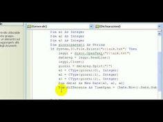 Tutorial-121-Imparare Visual Basic - #Apprendere #Basic #Corso #Imparare #Istruzio #Lezione #Lezioni #Linguaggio #Programma #Programmare #Programmazione #Scoprire #Scuola #Tutorial #Video #Visual http://wp.me/p7r4xK-YP