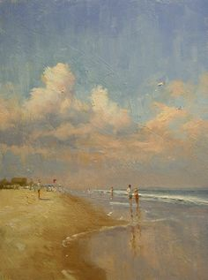 "Paul Bachem   ""Kite Flyer ~ Fire Island"""