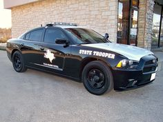 Dodge Charger - Texas Department of Public Safety, Texas Highway Patrol Us Police Car, State Police, Police Officer, Police Uniforms, Radios, Texas State Trooper, 4x4, Emergency Vehicles, Police Vehicles