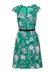 Alessia Floral Dress | Fern Green | Floral Dresses