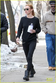 Kate Bosworth Hides Her Water on 'Still Alice' Set!