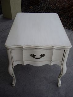 French Provencial Side Table