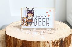 easter journaling {neat and tangled} You are a deer by Elena R
