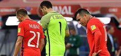 GARY MEDEL en el Alemania 1 - Chile 0 , Final Copa Confederaciones