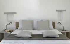 Τhe Concept: Unreal family sunsets Luxury family vacation in Mykonos means only one thing: staying at Moon Illusion. Mykonos Villas, Mykonos Hotels, Home Staging, Guest Room, Illusions, Relax, Lights, Luxury, Furniture