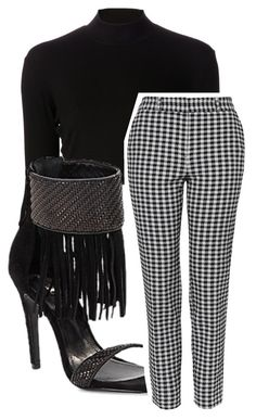 """Untitled #192"" by perfect-misfit-16 ❤ liked on Polyvore featuring Again, Schutz and Topshop"