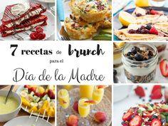 Unas recetas fáciles de brunch para el día de la madre, para que, en su día se sienta mimada y pueda disfrutar de un desayuno en la cama.